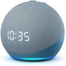 Imagem de Smart Speaker Amazon Echo Dot 4ª geração com Relógio Alexa