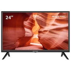 """Imagem de TV LCD 24"""" Multilaser TL037 2 HDMI USB"""