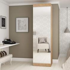 Imagem de Sapateira 1 Porta com Espelho Esmeralda Gelius Móveis Madeirado