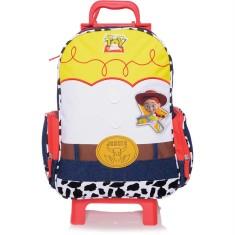Mochila com Rodinhas Escolar Dermiwil Toy Story Jessie 3D G 51690