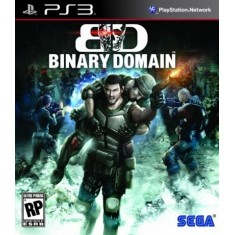 Jogo Binary Domain PlayStation 3 Sega