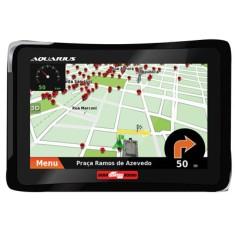 """GPS Automotivo Aquarius Guia Quatro Rodas MTC4310 4,3 """""""