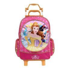 Imagem de Mochila com Rodinhas Escolar Dermiwil Princesas da Disney G 30407