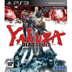 Jogo Yakuza: Dead Souls PlayStation 3 Sega
