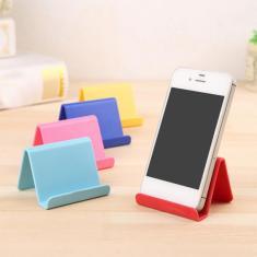 Imagem de Acessórios universais de telefone móvel doce mini suporte de mesa portátil para iphone samsung
