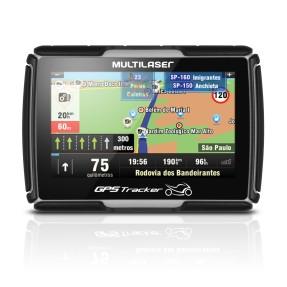 "GPS para Moto Multilaser GPS Tracker GP022 4,3 """