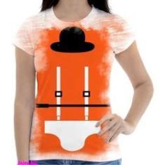 Imagem de Camiseta Camisa Feminina Orange Laranja Mecanica 18