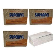 Imagem de Kit 10.000 Papel Toalha Superpel Interfolha P/suporte Barato