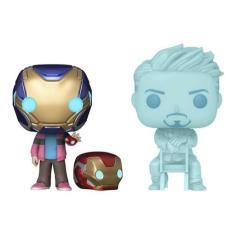 Imagem de Boneco Funko Pop Marvel Vingadores Morgan & Tony Stark