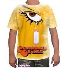 Imagem de Camiseta Camisa Masculina Orange Laranja Mecanica 8