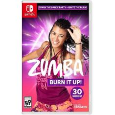 Jogo Zumba Burn It Up! 505 Games Nintendo Switch