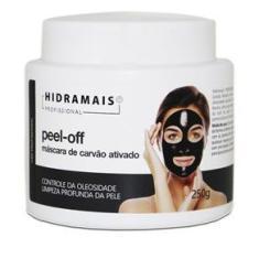 Imagem de Mascara Facial de Carvão Ativado Peel-off Hidramais 250g