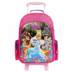Imagem de Mochila com Rodinhas Escolar Dermiwil Disney Princesas 30386
