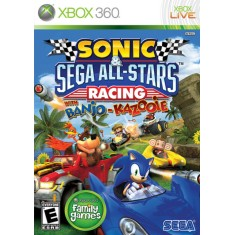 Jogo Sonic & Sega All-Stars Racing Xbox 360 Sega