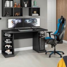 Mesa Para Computador Notável Gamer Nt 2020 Preto