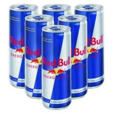 Imagem de Kit Energético Red Bull 250ml 6 Unidades
