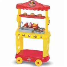 Imagem de Food Truck Burguer Hamburgueria Mini Chef Magic Toys 8080