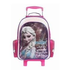 Mochila com Rodinhas Escolar Dermiwil Disney Frozen Elsa G 30177