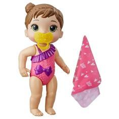 Imagem de Boneca Baby Alive Bebê Banhos Carinhosos Morena E8722 - Hasbro E8716