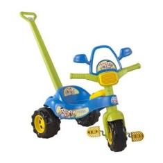 Imagem de Triciclo com Pedal Magic Toys Tico-Tico Cebolinha