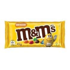 Imagem de Confeitos De Chocolate M&m Amendoim 45gr