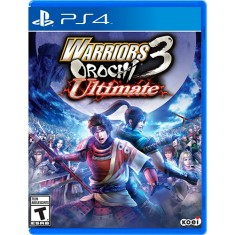 Jogo Warriors Orochi 3 Ultimate PS4 Koei