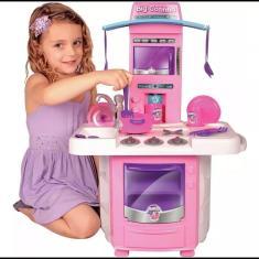 Imagem de Nova Big Cozinha Big Star Fogão Infantil A Partir De 3 Anos