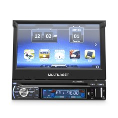 "DVD Player Automotivo Multilaser 7 "" GP044 Bluetooth USB"