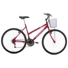 Bicicleta Houston 21 Marchas Aro 26 Freio V-Brake Foxer Maori