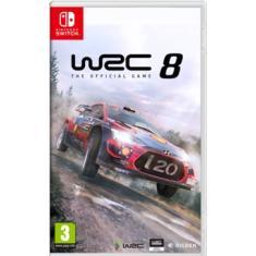 Jogo WRC 8 KT Nintendo Switch