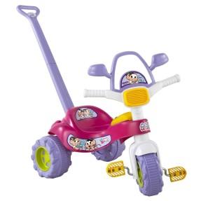 Imagem de Triciclo com Pedal Magic Toys Tico-Tico Turma da Mônica
