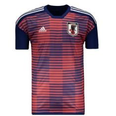 Camisa Japão 2018 19 Treino Masculino Adidas d5afbb23ac6b5