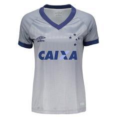 Camisa Feminina Cruzeiro III 2018 19 Torcedor Feminino Umbro 099173c45f245