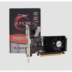 Imagem de Placa de Vídeo AFOX R5 220 Radeon 1GB DDR3 HDMI DVI VGA PCI-E X16 Low Profile- AFR5220-1024D3L9-V2