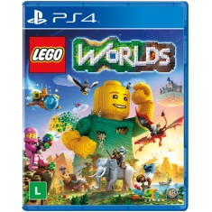 Jogo Lego Worlds PS4 Warner Bros