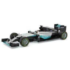 Imagem de Fórmula 1 Mercedes Benz Petronas F1 W07 Lewis Hamilton Hybrid 2016 1:18 Bburago