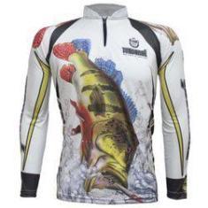 Imagem de Camiseta De Pesca King Proteção Solar Uv Kff302 - Tucunaré