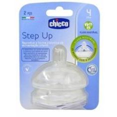 Imagem de CHICCO - Step Up - Bico para Mamadeira Fluxo Ajustável