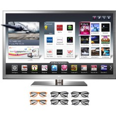 "TV LED 72"" Smart TV LG Cinema 3D 3D Full HD 4 HDMI 72LM9500"