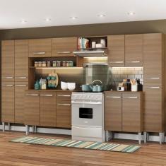 Imagem de Cozinha Completa 1 Gaveta 15 Portas Emilly Madesa