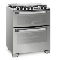 Fogão de Piso Electrolux 76XDR 5 Bocas Acendimento Automático Grill