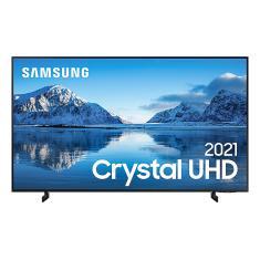 """Smart TV LED 75"""" Samsung Crystal 4K HDR 75AU8000"""