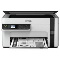 Imagem de Impressora Multifuncional Epson Ecotank M2120 Tanque de Tinta Preto e Branco Sem Fio
