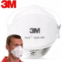 Imagem de Máscara N95 Pff2 Proteção 3m Aura Pff-2 9320  Envio Já