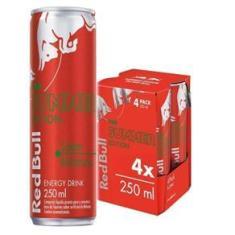 Imagem de Energetico Red Bull Melancia Pack 4 lata  250ml