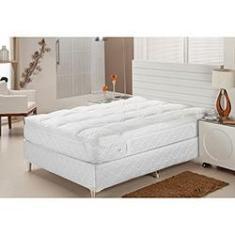 Imagem de Pillow Top Solteiro 100%  Fibra Siliconizada em Flocos - Plumasul