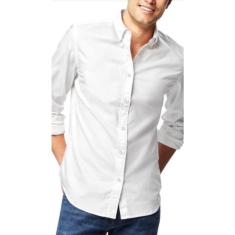 Imagem de Camisa Social Slim Masculino Tricoline -