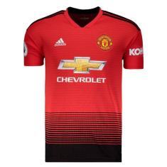 e0f1eda54f Camisa Manchester United I 2018/19 Torcedor Masculino Adidas