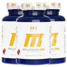 Imagem de Combo : Melatonina Sublingual 3Mg -  Kn Nutrition