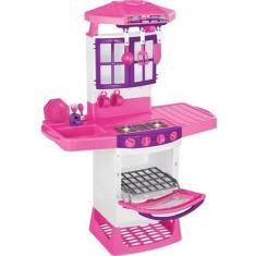 Imagem de Fogãozinho Cozinha Magica Eletronica Infantil Meg Magic Toys